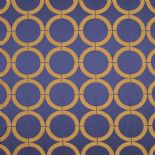 Edison Fabric Circles EDN80692222 or EDN 8069 22 22 By Casadeco